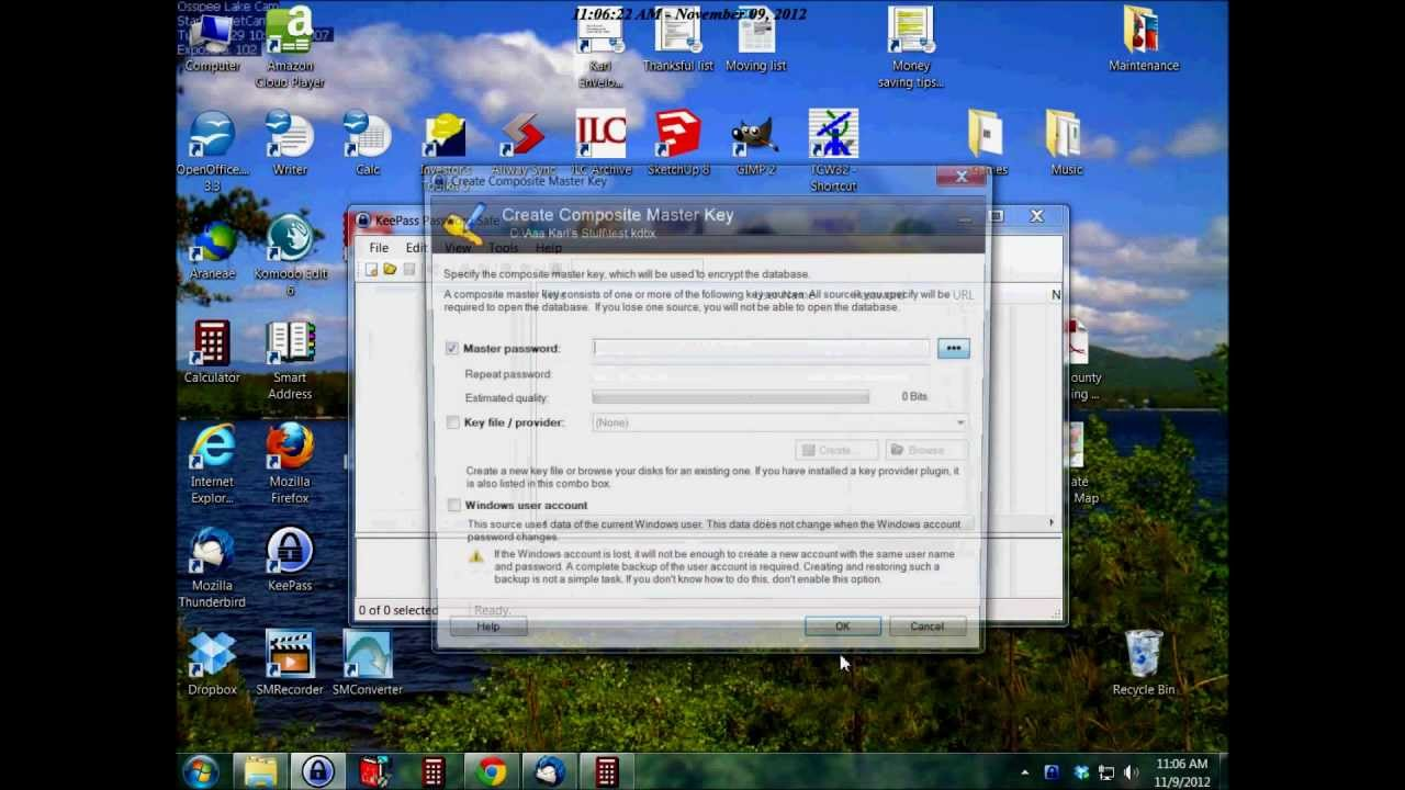 KeePass Tutorial - how to download, install, and use KeePass, a free  password database