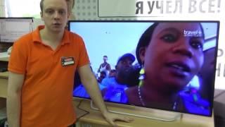 Видеообзор телевизора DOFFLER 50CF 37-T2 со специалистом от RBT.ru