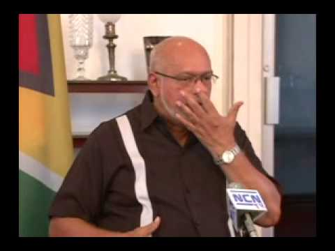 Opposition incapable of taking positions in defense of Guyana's interests -- President Ramotar