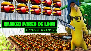 HACKING *WALL OF THE LOOT* +1000 COFRES (FORTNITE MINI-GAMES)
