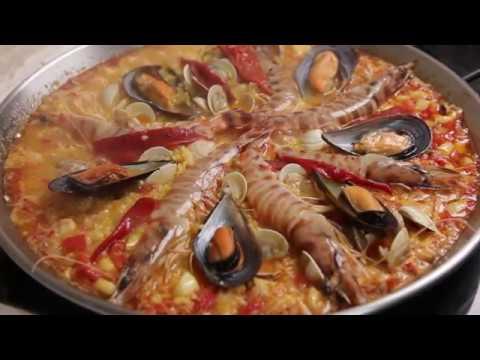 C mo hacer una paella de marisco recetas de cocina for Como aprender a cocinar