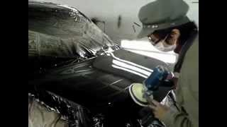 自動車板金塗装 磨き工程 thumbnail