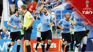 Uruguay Advances To The Round Of 16 With Win Over Saudi Arabia