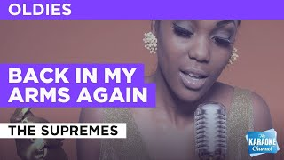 Back In My Arms Again : The Supremes | Karaoke with Lyrics