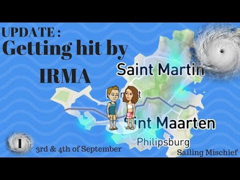 Getting hit by IRMA - Sailing Mischief - Live Update 1