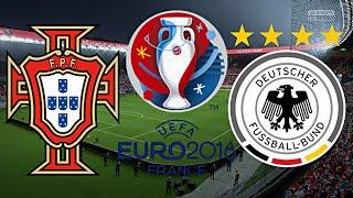 PORTUGAL vs. DEUTSCHLAND | FINALE | EURO 2016 FRANKREICH ◄EM #32►