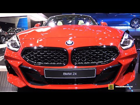 2019 BMW Z4 M40i - Exterior and Interior Walkaround - 2018 Paris Motor Show