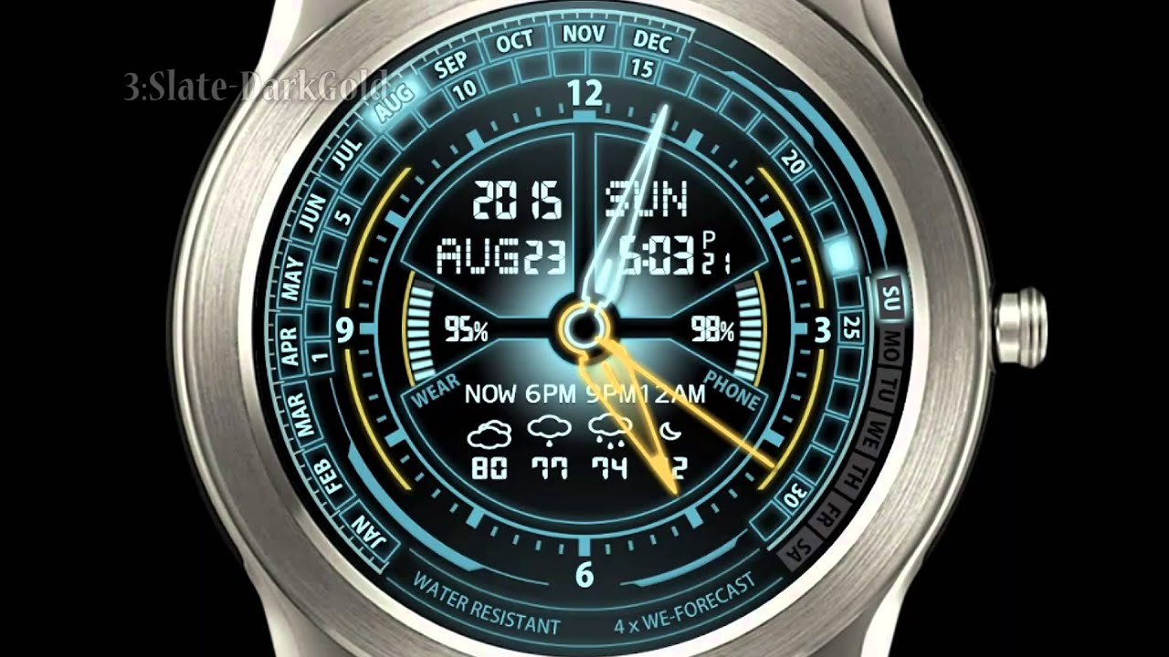 LG G Watch R Smartwatch Android Wear