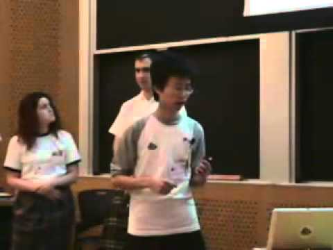 University of Edinburgh team presentation at iGEM 2006