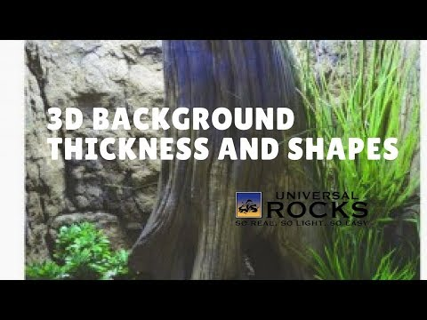 3D Background Thickness