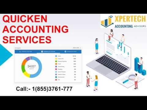 Online Quicken Software For Help | Quicken Error Resolve | Xpertech Accounting Advisors
