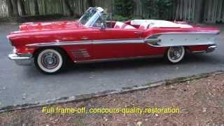 1958 Pontiac Bonneville Convertible. www.CharvetClassicCars.com