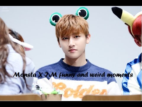 Monsta X I.M funny and weird moments