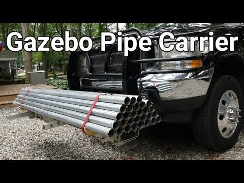 Gazebo (Cabana) Pipe Carrier - DIY
