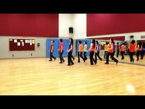 The Peaceful Valley - Line Dance (Dance & Teach in English & 中文)