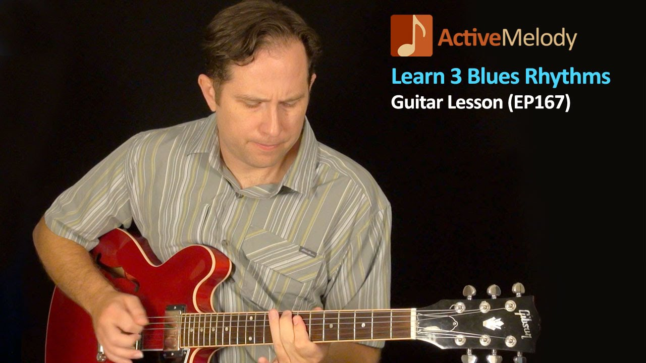 learn 3 blues rhythm patterns on guitar blues guitar lesson ep167 youtube. Black Bedroom Furniture Sets. Home Design Ideas