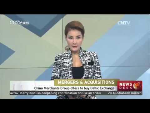 China Merchants Group offers to buy Baltic Exchange