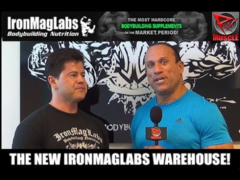 RxMuscle Tours The New IronMagLabs Warehouse In Las Vegas!