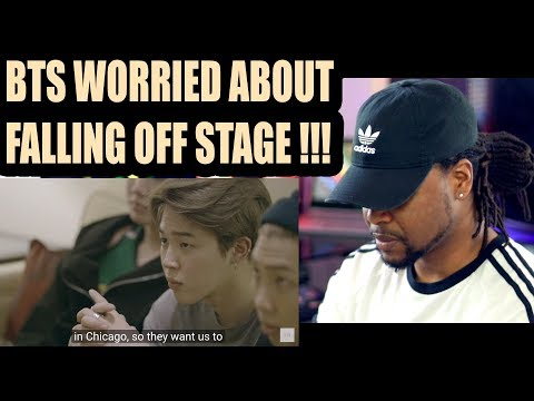 BTS worried about falling off small stage | BURN THE STAGE EP 5 | REACTION!!!