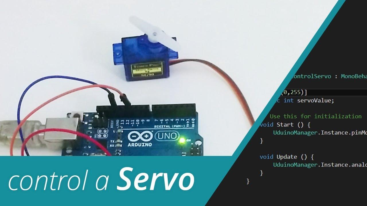 Uduino | Using a Servo
