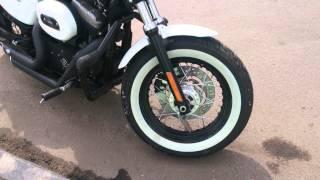 Harley-Davidson 48: Внешний вид и звук работающего двигателя(Видео с поездок на Harley-Davidson Forty-Eight в условиях мегаполиса. Все это можно увидеть в серии выпусков