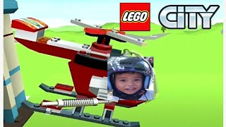 Mainan anak Lego City Surprise Car and Helicopter - Kids Playing | Mainan Anak Mobil dan Helikopter
