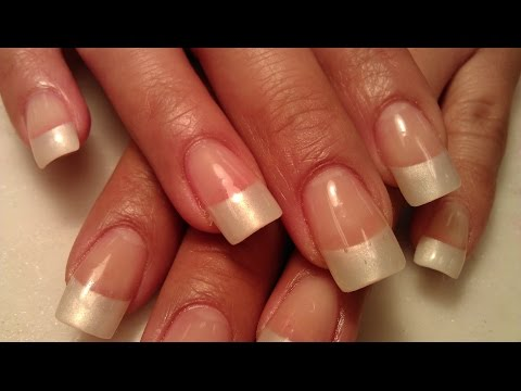 HOW TO AMERICAN NAILS NATURAL GEL Part 1