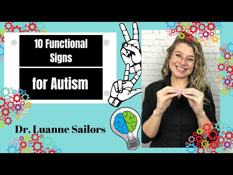 10 Functional Signs for Autism + Non Verbal + Sign Language Basics +Baby Sign Language from YouTube · Duration:  2 minutes 57 seconds