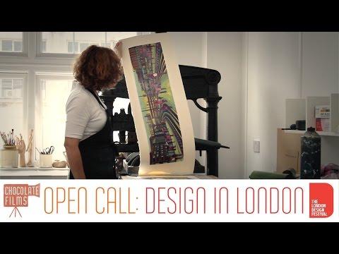 Gail Brodholt, who creates amazing linocut prints of London's transport - Londoner #40