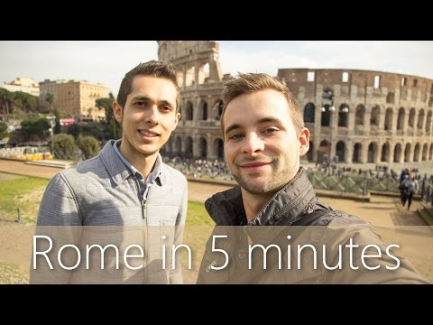 Rome in 5 minutes | Travel Guide | Must-sees for your city tour