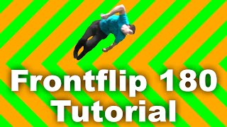 How to Parkour: Frontflip 180 Tutorial