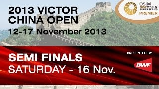 SF - MD - Lee Y.D. / Yoo Y.S. vs H.Endo / K.Hayakawa - 2013 Victor China Open