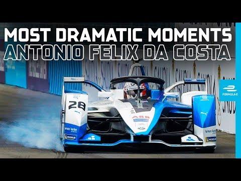 10 Dramatic Moments Which Have Defined Da Costa's Season | ABB FIA Formula E Championship