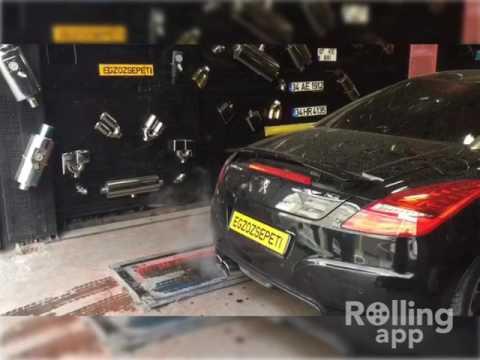 Peugeot Rcz 1.6i Thp Kumandalı Varex Egzoz Sesi