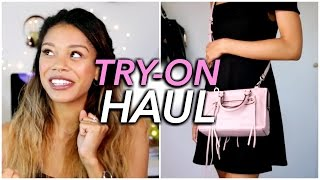 LYST TRY-ON HAUL: FREE PEOPLE, REBECCA MINKOFF, RAY BAN & MORE | Tasha Green | ad
