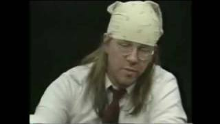 Charlie Rose interviews David Foster Wallace, 2/4