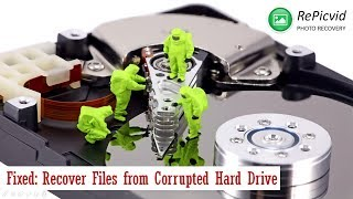 Fixed: Recover Files from Corrupted Hard Drive