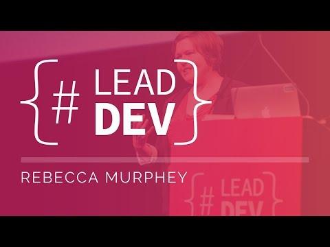 Rebecca Murphey at The Lead Developer New York 2017