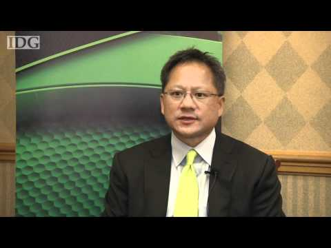 Raw video: NVidia CEO Jen-Hsun Huang comments on delay of trial with Intel