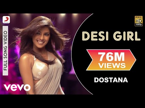 Thumbnail: Dostana - Desi Girl Video | Priyanka Chopra, Abhishek, John