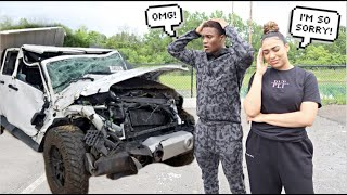 I Crashed My Boyfriend's Car..