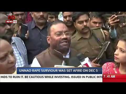 Unnao rape case to be taken to fast track court (English)