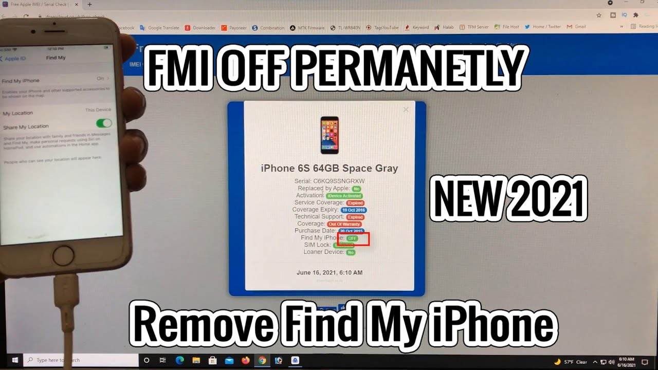 Free Trial | How to turn off Find My iPhone without password? | Remove Find My iPhone | 2021 New