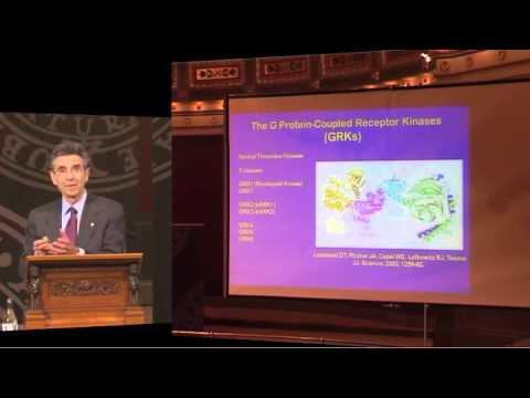 Nobel Laureate in chemistry Professor Robert J. Lefkowitz – Nobel Lectures in Uppsala 2012