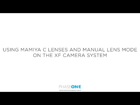 Support | Using Mamiya C lenses with the XF | Phase One