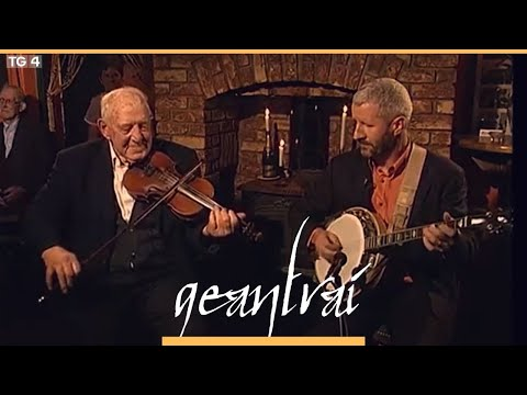 Paddy Canny East Clare fiddle player Geantraí 2004