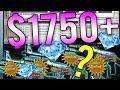 EXTREME Case Hardened Trade Ups... $1750+ for Ultimate CS:GO Blue Gem Dream?!