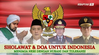 HABIB SYECH SHOLAWATDOA UNTUK INDONESIA di PP Al Munawwir Krapyak