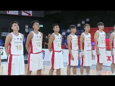 Philippines vs. Singapore | May 24, 2016 | 5th SEABA Stankovic Cup 2016 THAILAND (ENG)