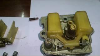 полная переборка карбюратора К 62. ч2.  Complete bulkhead carburetor K-62